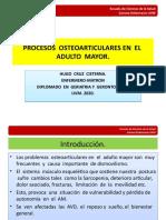 PROCESOS  OSTEOARTICULARES EN  EL  ADULTO  MAYOR -