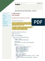 - Códigos Exercícios Resolvidos - Parte 2 - __.Prof. Newton - Java