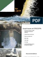 STP, ETP and CETP Treatment