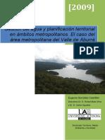 Gestión del agua y planificación territorial en ámbitos metropolitanos. El caso del área metropolitana del Valle de Aburrá
