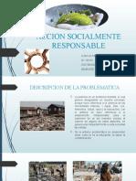 ACCION SOCIALMENTE RESPONSABLE SUSTENTACION