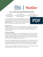 SLU/YouGov Oct 2020 Top Line Results