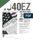 i1040ez - INSTRUCTIONS