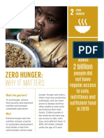 why it matters - zero hunger