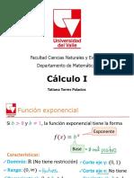 Clase 13 - Funciones exponencial y logaritmica