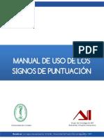 Manual de uso de los signos de puntuación