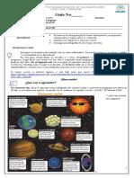 Guía de Aprendizaje de Lenguaje sobre texto sinformativos para exposición