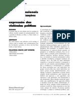 FLEURDORGE, Denis. Os jogos multidimensionais das ritualizações sociais na expressão das violências políticas. Revista FAMECOS mídia, cultura e tecnologia, n. 29, p. 57-69, 2006.