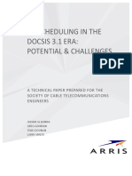 Upstream Scheduling in the DOCSIS 3.1 Era_ Potential & Challenges