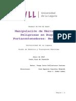 Manipulacion de Mercancias Peligrosas a bordo de Portacontenedores Beatriz B.pdf