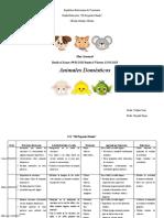 Planificacion ANIMALES DOMESTICOS.
