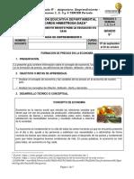 GUÍA DE EMPRENDIMIENTO 9° - SEMANAS 1 A 4 - TERCER PERIODO 2020