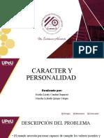 caracter y personalidad