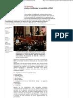 Cómo el Congreso de Estados Unidos se ha vendido a Wall Street [Voltaire]