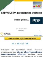 EQUILÍBRIO QUÍMICO - KÁTIA GABRIEL