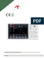 Arbitrary Waveform Generator UNI-T UTG962E Datasheet