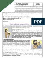 GUIA 1 RELIGION- GRADO CUARTO- TERCER PERIODO