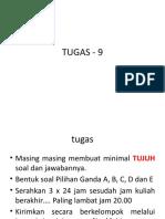 TUGAS - 9