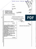 CV 11-258 Forfeiture Complaint