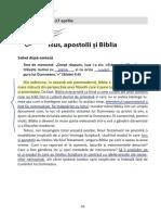 3 - Isus, Apostolii Și Biblia