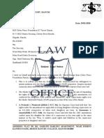 legal notice nexa