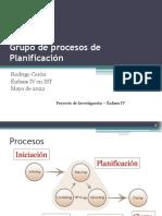 Grupo de Procesos de Planificación - 3 parte
