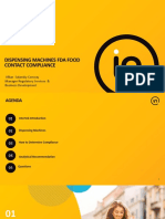2017-11-06 - Intertek Webinar - FDA FCM Compliance Dispensing Machines