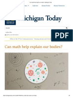 Can math help explain our bodies_ _ Michigan Today