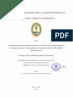 LA GUANABANA ESTUDIO 2015
