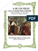 XX Domingo Después de Pentecostes Orbis Factor