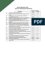API_653_RC_26Feb05_Important_Open__Book_Questions_Table