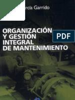 Organizacion y gstion del mantenimiento