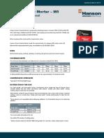 sand-cement-mortar-technical-data-sheet