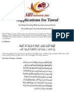 Prayers of Tawaf