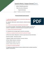 primer evaluacion TLR Daniel de Maria