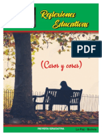 Reflexiones Educativas (Casos y Cosas)