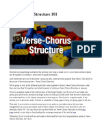 Untitled SONG STRUCTURE