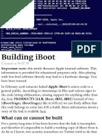 Building iBoot