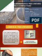 NTP 400.017 PESO UNITARIO SUELTO Y COMPACTADO