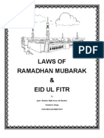 Laws of Ramadhan Mubarak1