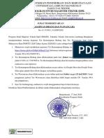 110 Surat Pemberitahuan TKB dan Wawancara