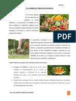 CLASE 4 - LA AGRICULTURA ECOLOGICA-