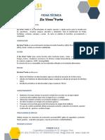 Ficha Técnica Zix Virox Forte CLIENTES