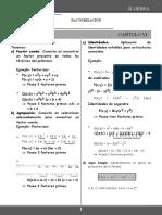 ÁLGEBRA 5TO-FACTORIZACION I -SEM. 06