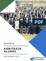 Primera Edición Anual - Revista Digital - Arbitraje Alumni