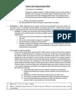 Enunciado - Exame de Programação Web.pdf