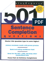 501-Sentence-Completion-Questions
