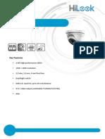 Especificaciones THC-T120-M