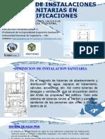 SEMINARIO DE INSTALACIONES SANITARIAS