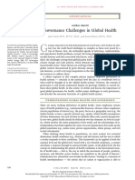 Governance challenges in global health